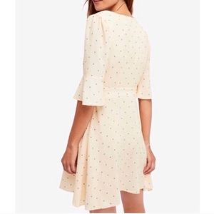 Free People All Yours Cream Dress